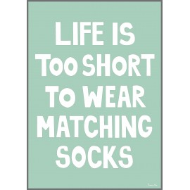 Matching Socks Poster by Miniwilla