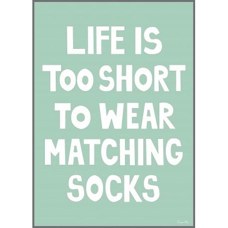 Matching Socks Poster by Miniwilla
