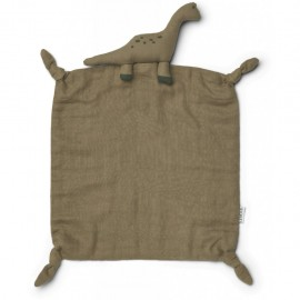 Agnete cuddle cloth- Dino khaki