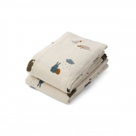 Lewis Muslin Cloth- friendship - 2pack