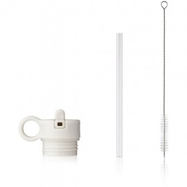 Lid with straw and brush for Falk 350ml