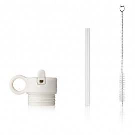 Lid with straw and brush for Falk 250ml