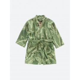 Banana leaf bathrobe
