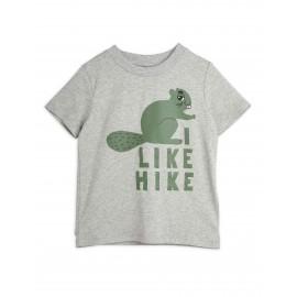 Beaver Hike T-shirt- grey
