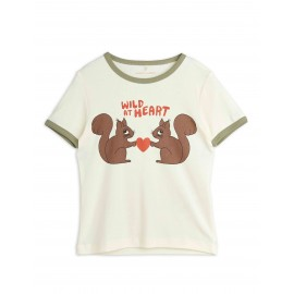 Wild at heart T-shirt- off-white