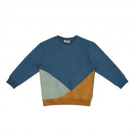 Compass sweater colour block