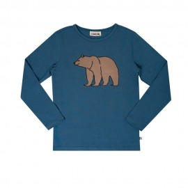Grizzly long sleeve top with print