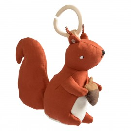 Musical pull toy, Squirrel