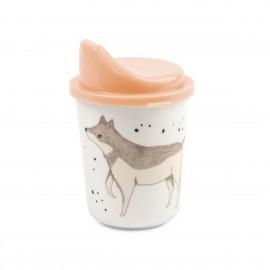 Melamine sippy cup Nightfall rose