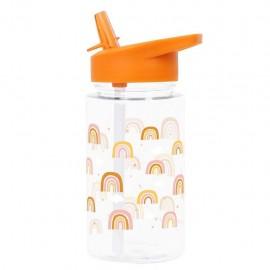 Water bottle - rainbows