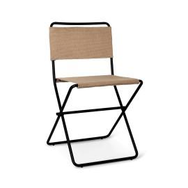 Desert dining chair - black/sond