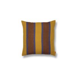 Grand Cushion - lime/blue/choco