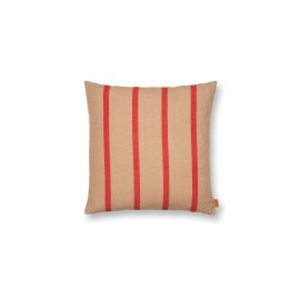 Grand Cushion - camel/red