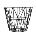 Wire Basket Black - Medium