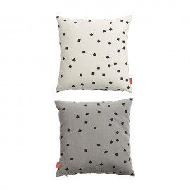 Confetti cushion -White/Black & Griffin/Black