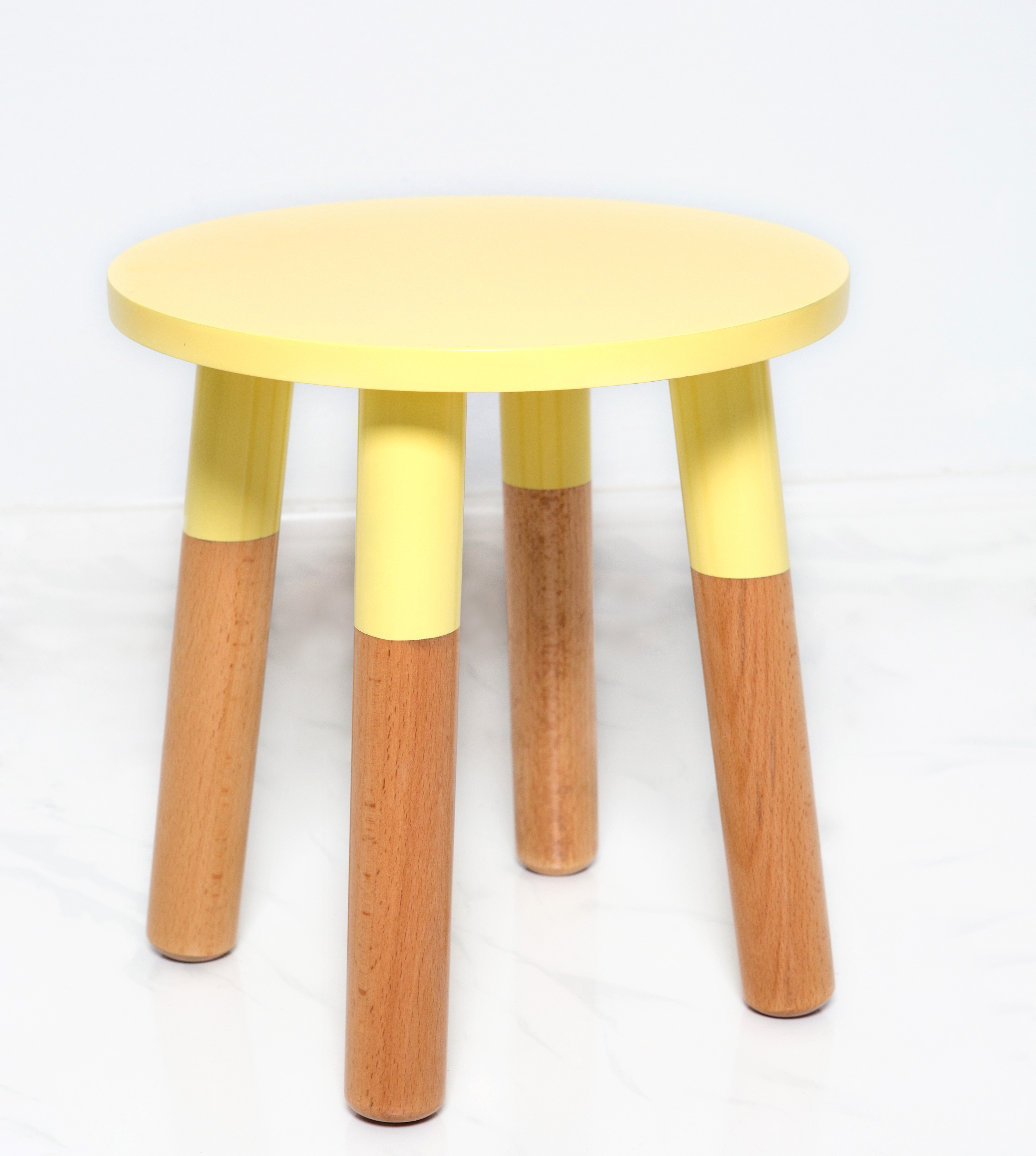 Kids Stool In White By Pomme Kids Furniture And Decor