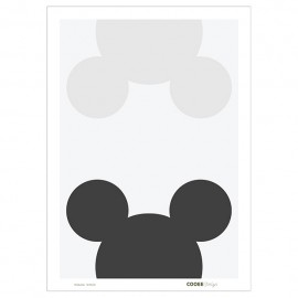 Mouse Remix poster by Cooee