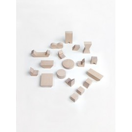 Mini Furniture set - 18pcs - natural