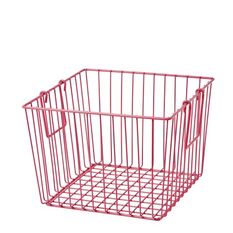 Square Wire Basket - Mint