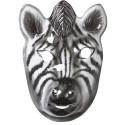 Kids Plastic Mask - Zebra
