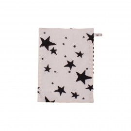 Kids bedsheet black stars