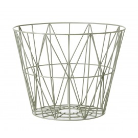 Wire Basket Dusty green- Small