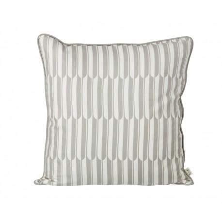 Arch cushion - grey/off-white