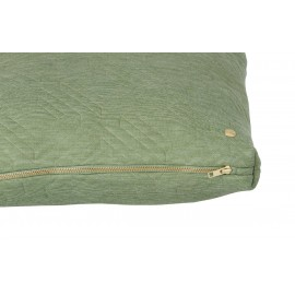 Quilt cushion - Green - 60 x 40cm