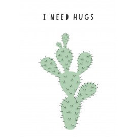 I need hugs wall sticker