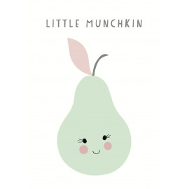 Little Munchkin wall sticker