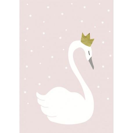 Swan wall sticker