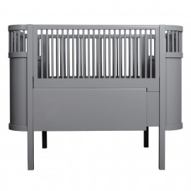 The NEW Sebra Baby & Junior bed - grey