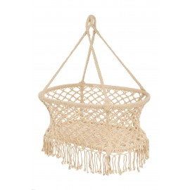 Hanging crib - white