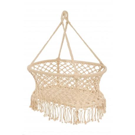 Hanging crib - white