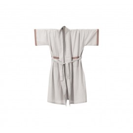 Bliss Kimono bath robe - light grey