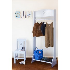 Clothes Rack grey with Plane design