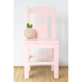 POMME chair Heart design pink