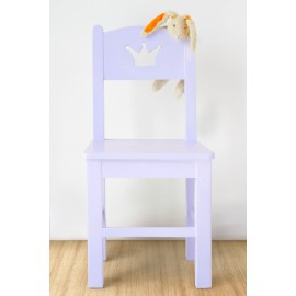 POMME chair Crown design lavender