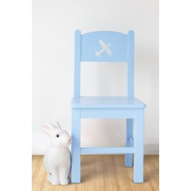 POMME chair Plane design blue