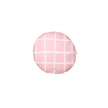 Circle Pillow rose grid