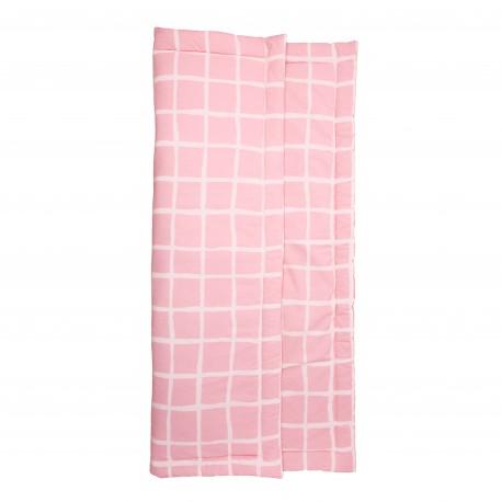 Playmat rectangular rose grid