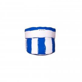 Storage basket S blue stripes