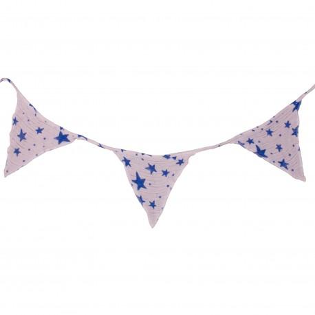Garland stars-blue