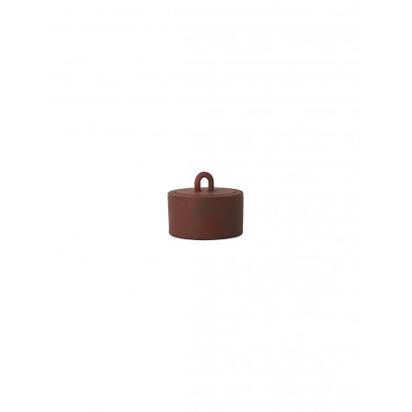 Buckle Jar - rust
