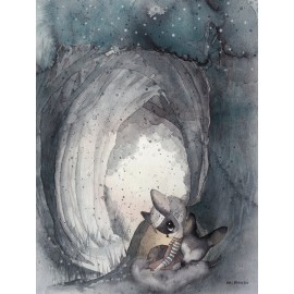 "Mrs. Mighetto ""Secret Tunnel"" print"
