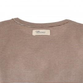 Summer Shirt Isabel - brown/white striped