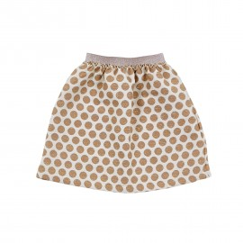 Gold dots skirt