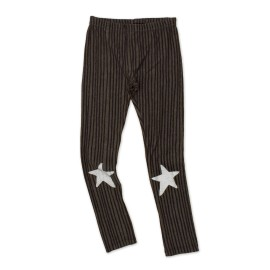 Star leggings - khaki