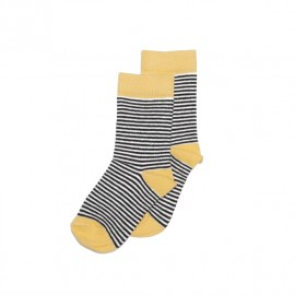 Socks- Striped/ocher