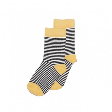 Socks- Striped/rawhide
